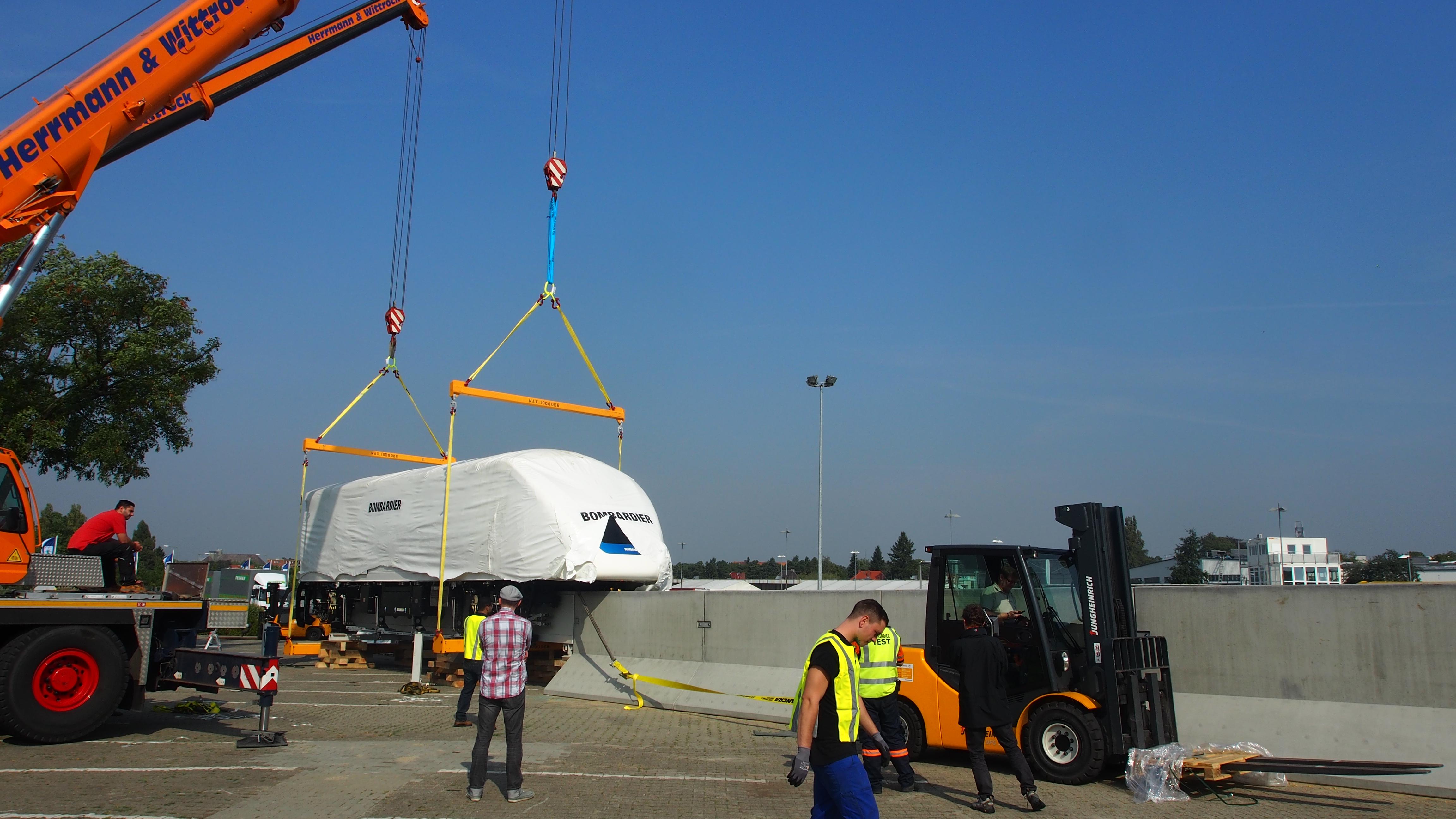 Projektmanagement für Bombardier.