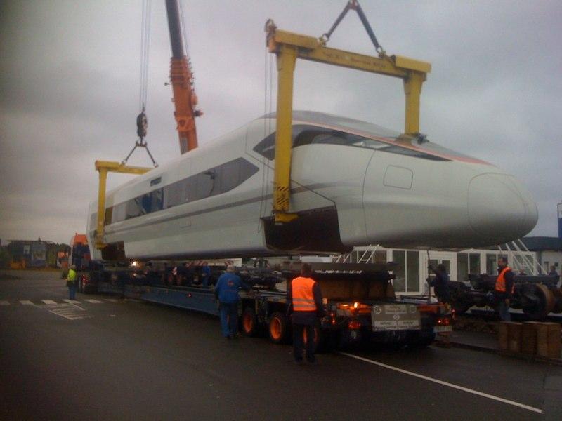 Projektmangement Zefiro mit Bombardier.